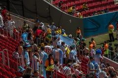Argentinië 1 X 0 België - Wereldbeker 2014 - Brazilië Stock Fotografie