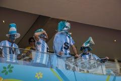 Argentinië 1 X 0 België - Wereldbeker 2014 - Brazilië Royalty-vrije Stock Fotografie