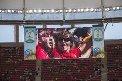 Argentinië 1 X 0 België - Wereldbeker 2014 - Brazilië Royalty-vrije Stock Foto's