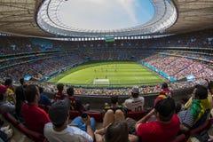 Argentinië 1 X 0 België - Wereldbeker 2014 - Brazilië Royalty-vrije Stock Afbeeldingen