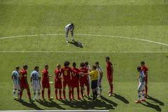 Argentinië 1 X 0 België - Wereldbeker 2014 - Brazilië Stock Afbeelding
