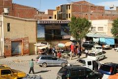 Argentinië-Boliviaanse grens stock afbeelding