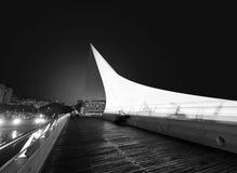 Argentinië, Buenos aires, Puente DE La Mujer royalty-vrije stock foto