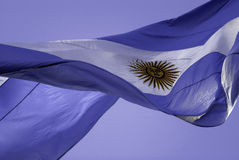 Argentinië Flag2 Stock Foto