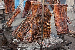 Argentinian asado Royalty Free Stock Photos