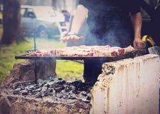 Argentinian asado Stock Photo
