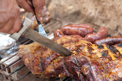 Argentinian barbecue Royalty Free Stock Photo