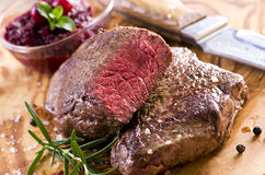 Argentinian Beef Steaks Royalty Free Stock Images
