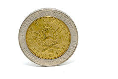 Argentinian coin Royalty Free Stock Images