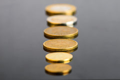 Argentinian Coins Royalty Free Stock Image