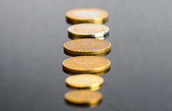 Argentinian Coins Stock Photo