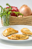Argentinian empanadas Royalty Free Stock Photo