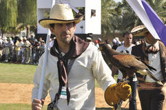 Argentinian Falconer Stock Images