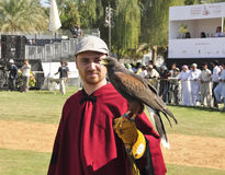 Argentinian Falconer Royalty Free Stock Photography