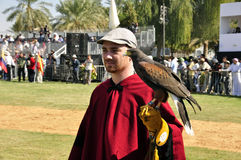 Argentinian Falconer Royalty Free Stock Image