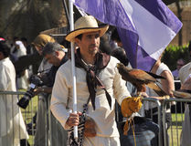 Argentinian Falconer Royalty Free Stock Images