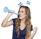 Argentinian Fan Stock Images