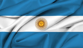 Argentinian flag - Argentina  Stock Photos