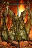 argentinian grillfest Arkivfoton