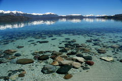 Argentinian lake Stock Images