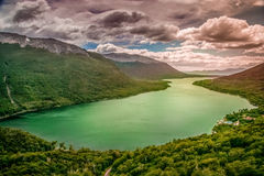 Argentinian lake Royalty Free Stock Images