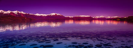 Argentinian Lake District. Beautiful lake in argentinian Lake District near Bariloche, Argentina Stock Photography