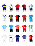 Argentinian League Clubs Jerseys Stock Photography
