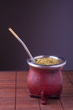 Argentinian mate. Stock Image