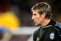 Argentinian player Martin Palermo Stock Image