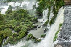 Argentinian Side of Iguazu Falls Royalty Free Stock Photography