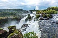Argentinian Side of Iguazu Falls Stock Image