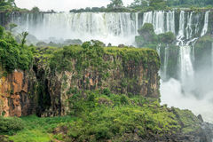 Argentinian Side of Iguazu Falls. In Misiones Province, Argentina Stock Photo