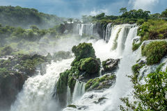 Argentinian Side of Iguazu Falls. In Misiones Province, Argentina Stock Image