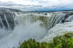 Argentinian Side of Iguazu Falls Royalty Free Stock Image