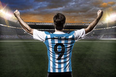 Argentinian soccer player Royalty Free Stock Image
