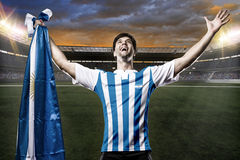 Argentinian soccer player Stock Photography