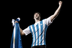 Argentinian soccer player Royalty Free Stock Photography