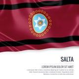 Argentinian state Salta flag. Stock Photo