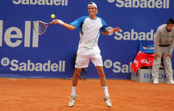 Argentinian tennis player Juan Ignacio Chela Royalty Free Stock Photography
