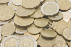 Argentinians coins royalty free stock photos