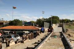 Argentinien-Bolivianischer Rand stockfotografie