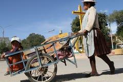 Argentinien-Bolivianischer Rand lizenzfreie stockbilder
