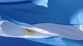 Argentinien-Flagge Südamerika stock abbildung