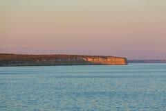 Argentinien-Küste stockfotografie