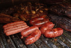 Argentinien-Lebensmittel - Grill Carne (Mea Parilla Asado Lizenzfreie Stockfotografie