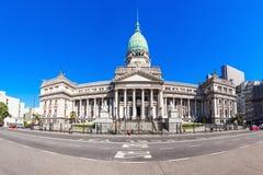 Argentinien-Nationalkongress-Palast stockbilder