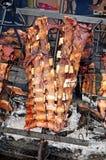 Argentinien-Rindfleisch asado Stockfoto