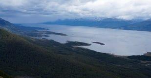 Argentinien von Isla Navarino, Chile Lizenzfreies Stockfoto