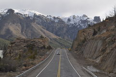 Argentinien-Weg Lizenzfreies Stockbild