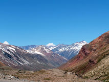 Argentinische Anden Lizenzfreie Stockfotos